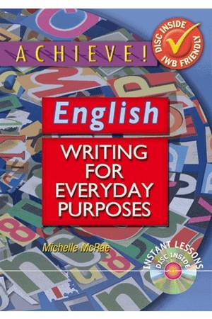 Achieve! English - Writing for Everyday Purposes