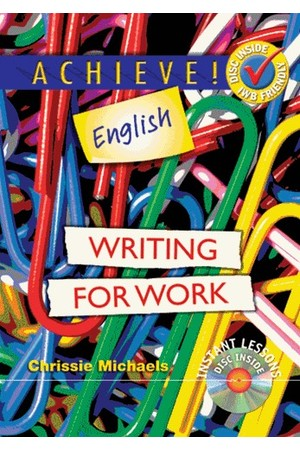 Achieve! English - Writing for Work