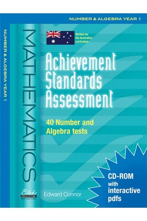 Achievement Standards Assessment - Mathematics: Number & Algebra - Year 1