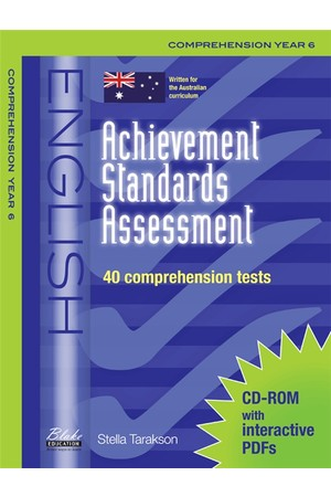 Achievement Standards Assessment - English: Comprehension - Year 6
