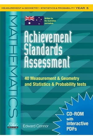Achievement Standards Assessment - Mathematics: Measurement & Geometry and Statistics & Probability - Year 5