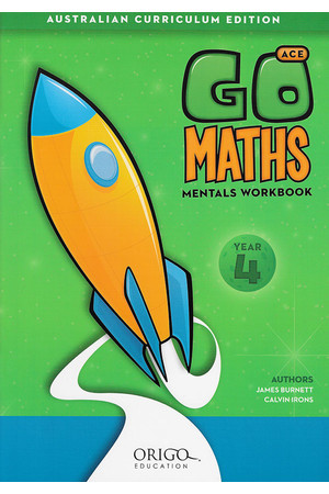 GO Maths ACE - Mentals Workbook: Year 4