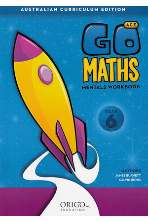 GO Maths ACE - Mentals Workbook: Year 6