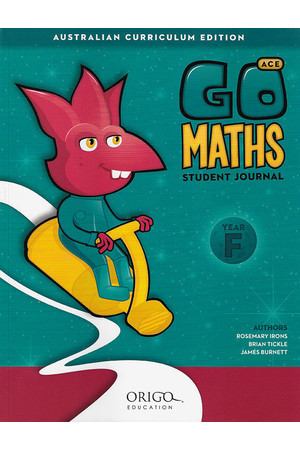 GO Maths ACE - Student Journal: Foundation