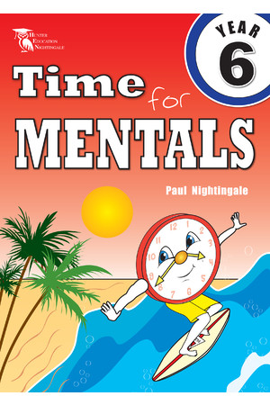 Time for Mentals - New South Wales: Year 6