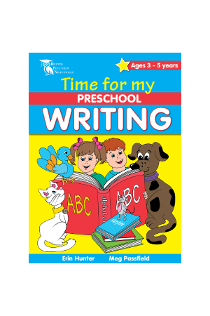 Time for My Preschool - Writing