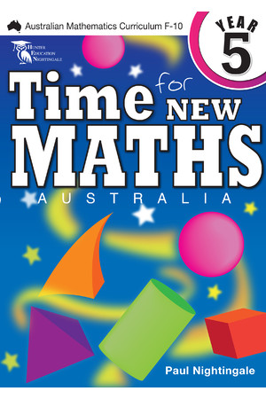 Time for New Maths Australia - Year 5