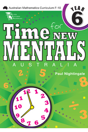Time for New Mentals Australia - Year 6