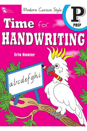 Time for Handwriting - Victorian Modern Cursive: Prep