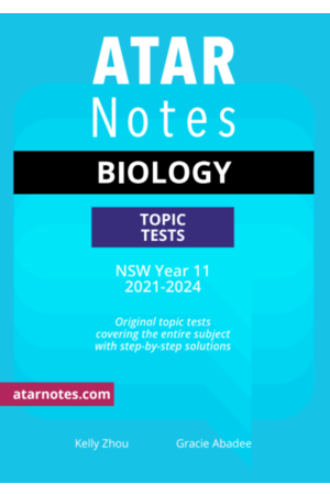 ATAR Notes Year 11 Biology Topic Tests - NSW