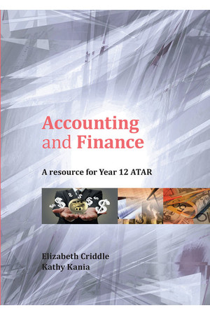 Accounting and Finance: A Resource for Year 12 ATAR