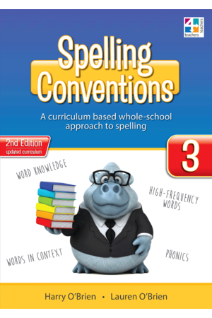 Spelling Conventions - Second Edition: Year 3