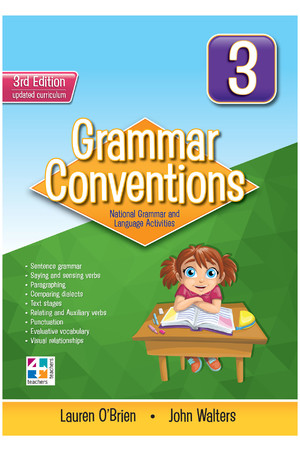 Grammar Conventions - Third Edition: Year 3