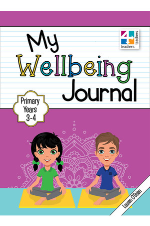 My Wellbeing Journal - Years 3 & 4