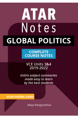 ATAR Notes VCE Global Politics 3 & 4 Notes