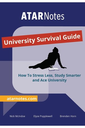 ATAR Notes University Survival Guide