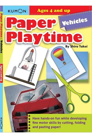 Paper Playtimes: Vehicles