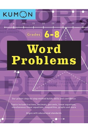Word Problems: Years 6 - 8