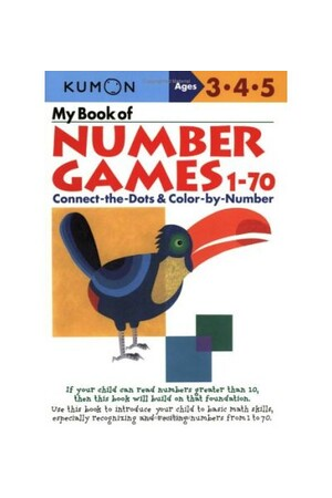 My Book of Number Games 1-70
