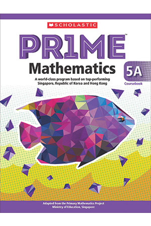 PRIME Mathematics International Edition - Coursebook: 5A (Year 5)