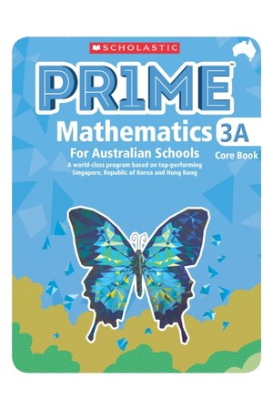 PRIME Mathematics for Australian Schools - Core Book 3A (Year 3)