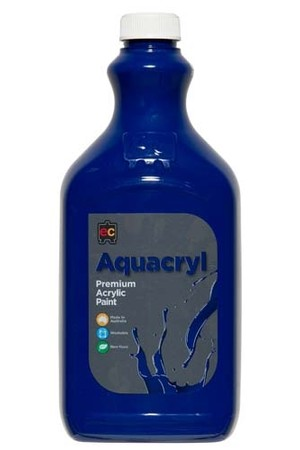 Aquacryl Premium Acrylic Paint 2L - Cool Blue