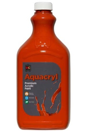 Aquacryl Premium Acrylic Paint 2L - Red Oxide
