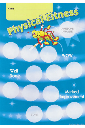 Physical Education Achievement Cards