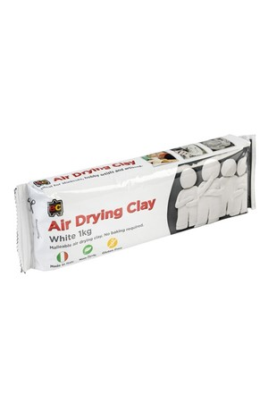 Air Drying Clay - White: 1kg