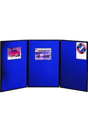 Nobo - Portable Display Board (3 Panels)
