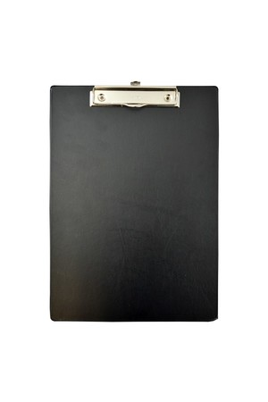 Bantex Clipboard (A4) - PVC: Black