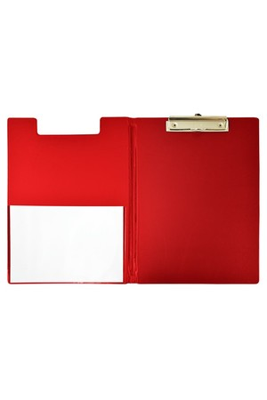 Bantex Clipfolder (A4) - PVC: Red