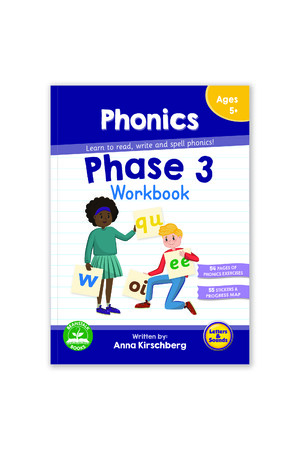 Phase 3 Phonics Workbook