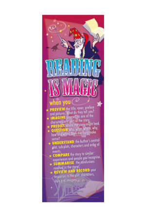 Reading is Magic Bookmarks