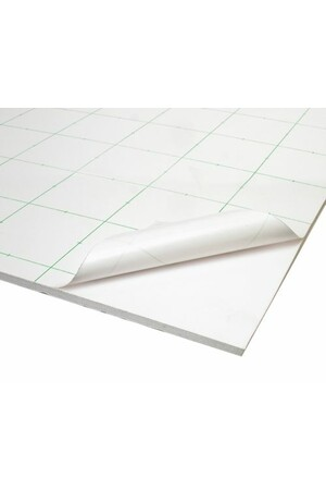 Foam Core Board - Adhesive Backed White: 81x101cm