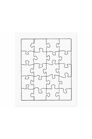 Cardboard Jigsaws - Pack of 20