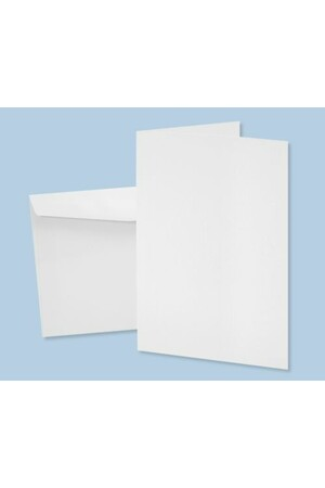 Cards & Envelopes - White (Pack of 20)