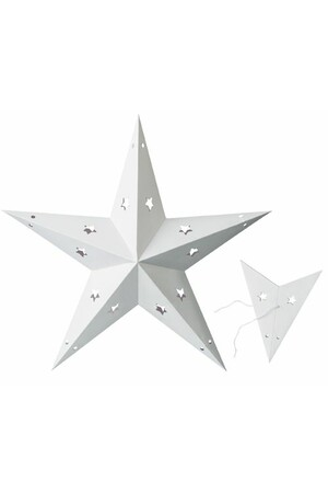 Cardboard Fold-Out Stars - Pack of 10