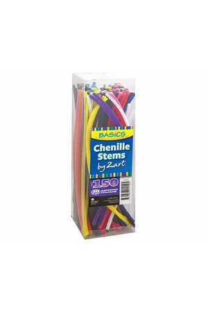 Basics - Chenille Stems: 30cm (Pack of 150)