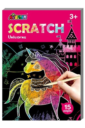 Avenir Mini Scratch Book - Unicorns