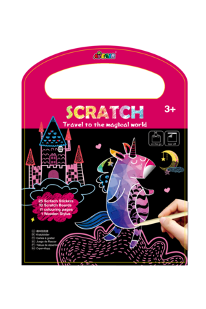 Avenir Scratch Book - Travel To The Magical World