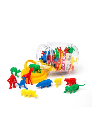 Wild Animals Counters - Jar of 40