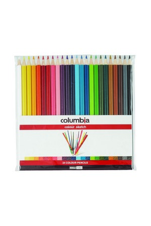 Columbia Coloured Pencils - Pack of 24