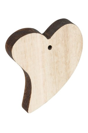 Wooden Hearts - Pack of 12
