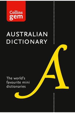 Collins Gem - Australian Dictionary (11th Edition)