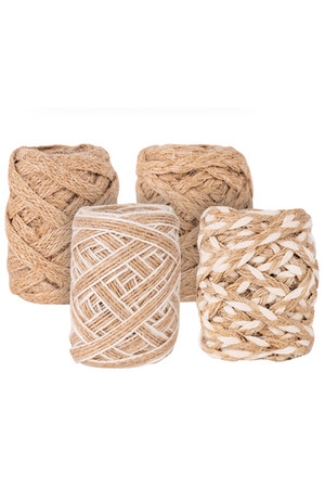 Natural Braid - Pack of 4