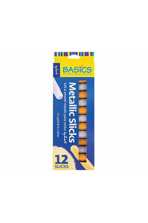 Metallic Slicks - Pack of 12