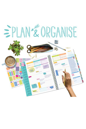 Diary & Planner Stickers - Plan & Organise