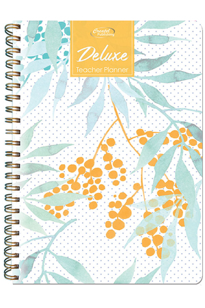 Deluxe Secondary Planner 2021 (Daily) - Acacia