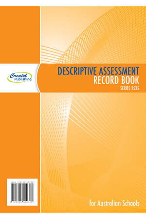 Descriptive Assessment Record Book - Wiro Bound